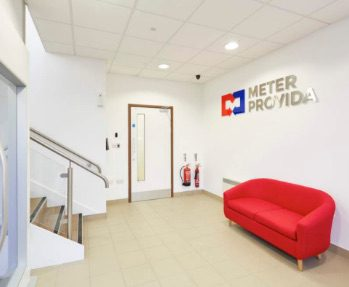 Meter Provida - image of the reception area