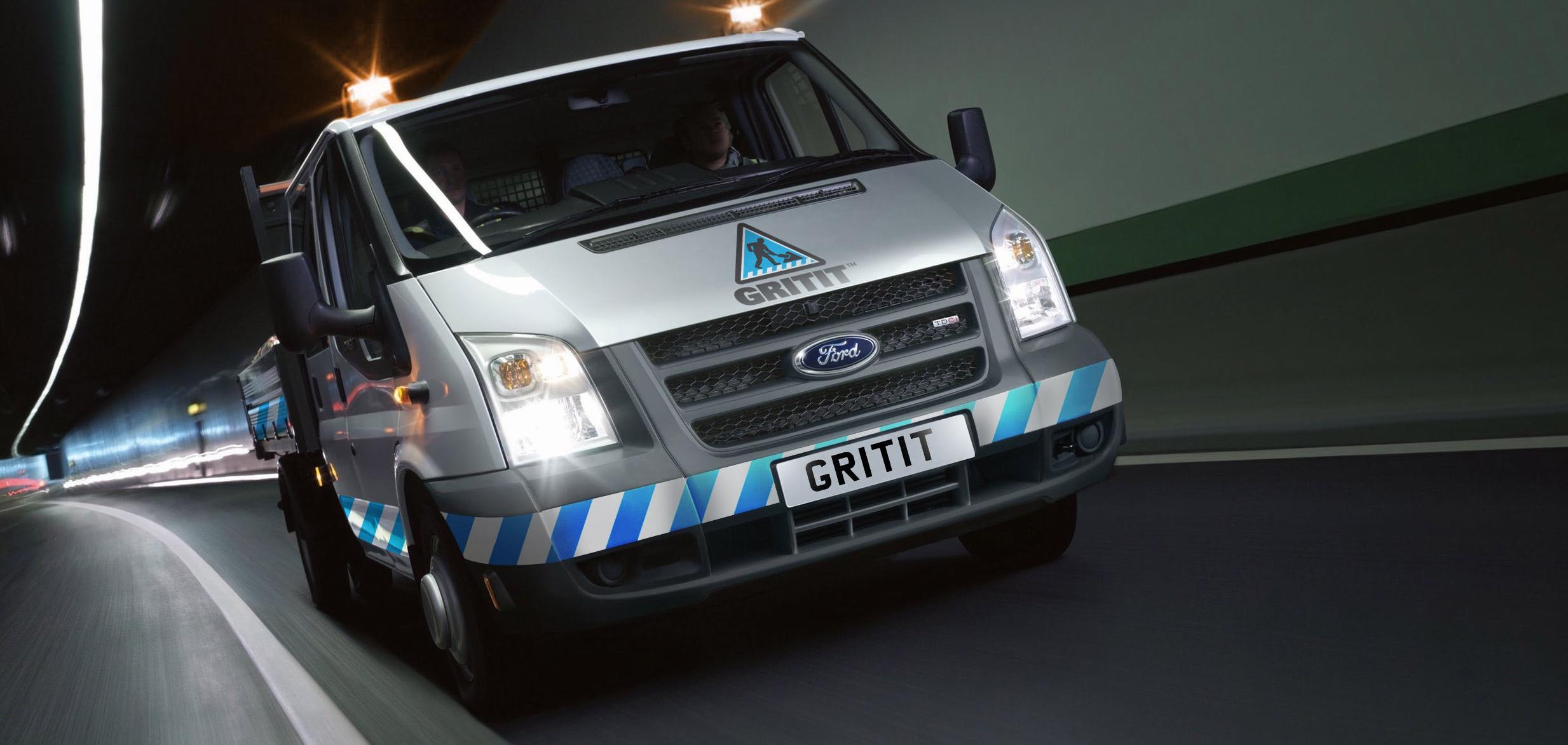 Image of a GRITIT van